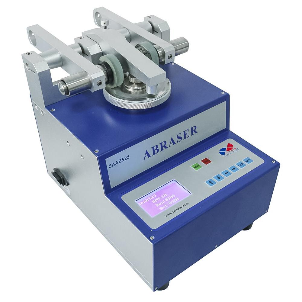 strumenti per determinare la resistenza all'abrasione