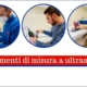 strumenti di misura a ultrasuoni