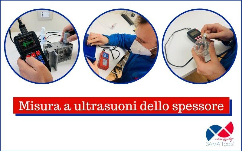 Misura a ultrasuoni dello spessore