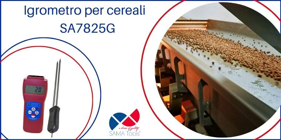 Igrometro per cereali – SA7825G