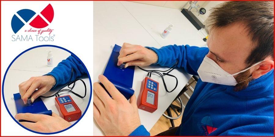 Ultrasonic thickness measurement SA8812