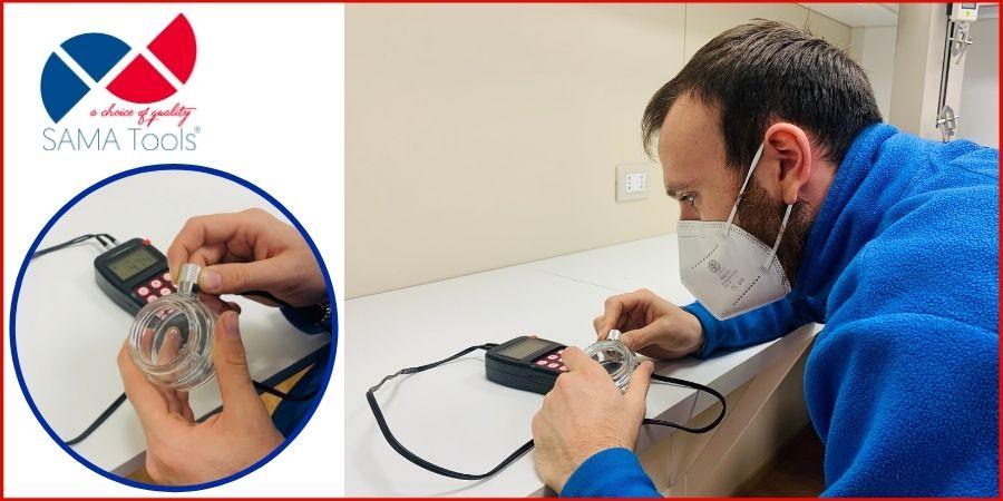 misura a ultrasuoni dello spessore SAUT160