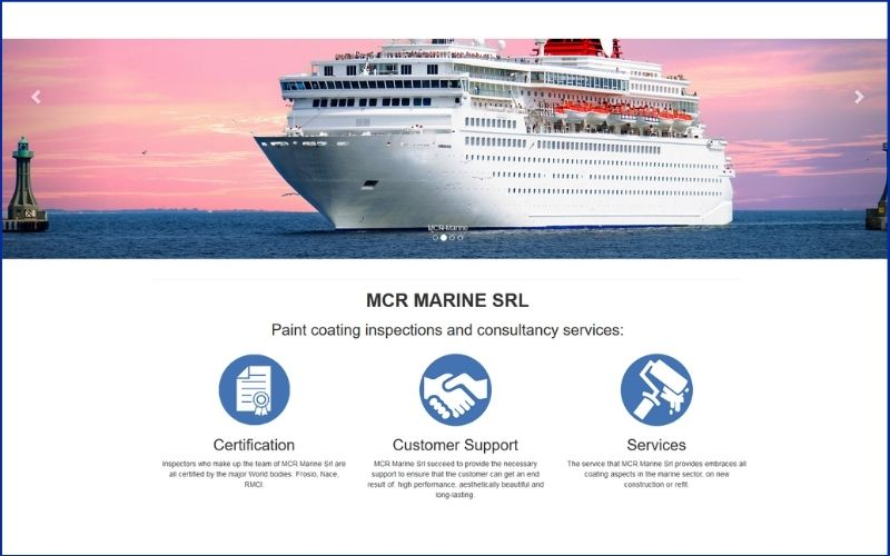 Quality Control of the coating on Commercial Vessels and Mega Yachts
