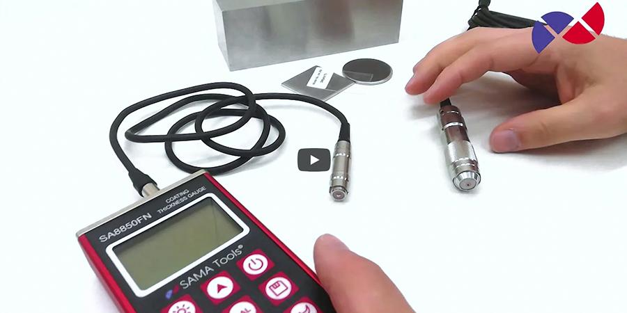 Spessimetro digitale di rivestimenti ad alta precisione – SA8850