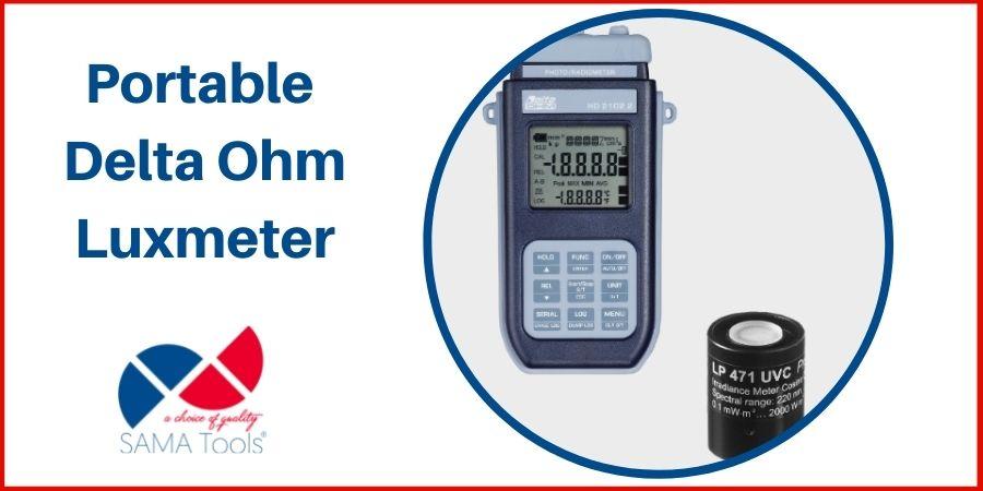 Portable Delta Ohm Luxmeter