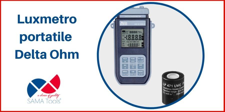 Luxmetro portatile Delta Ohm