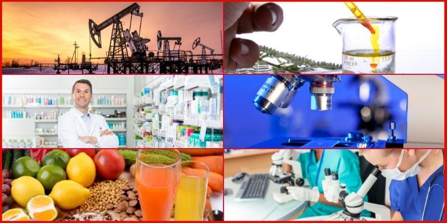 application sectors