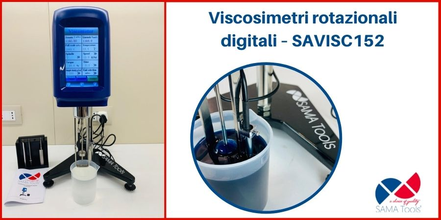 Viscosimetro rotazionale digitale SAVISC-152