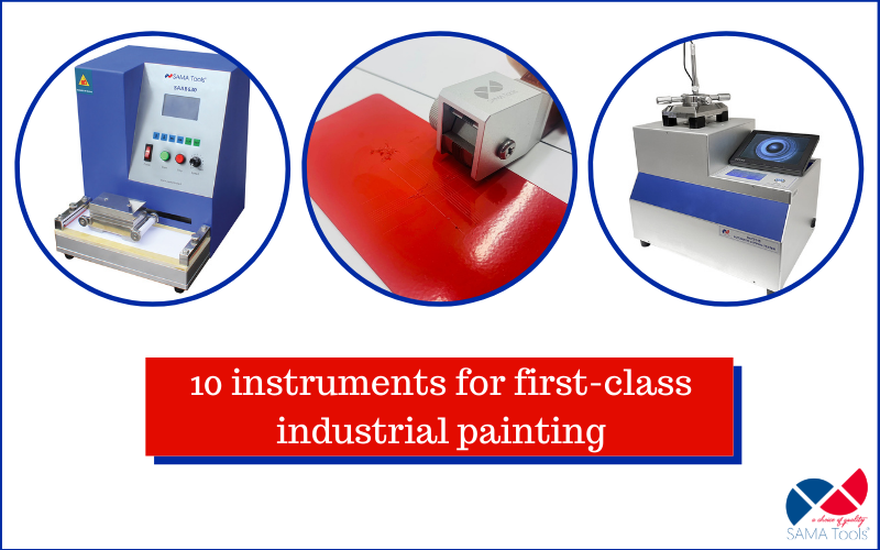 10 instruments for first-class industrial coating
